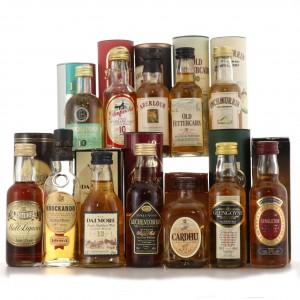 Single Malt Miniatures x 12