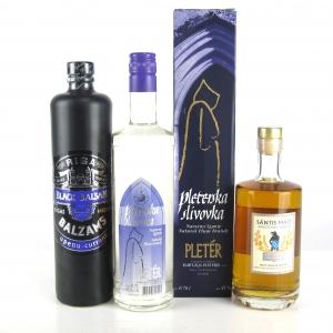 Miscellaneous European Liqueurs x 3