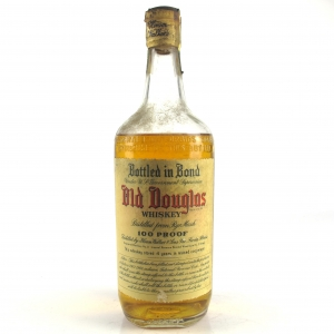 Hiram Walker 1938 Old Douglas 4 Year Old