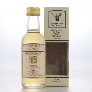 Brora 1982 Gordon And MacPhail Miniature 5cl