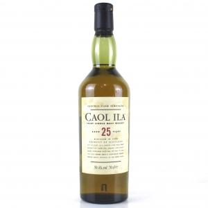 Caol Ila 1978 Cask Strength 25 Year Old