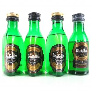 Glenfiddich Miniature Selection 4 x 5cl