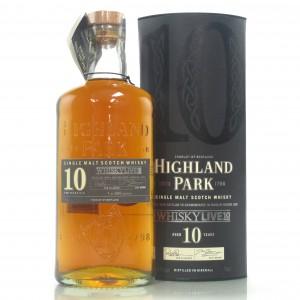 Highland Park 1999 WhiskyLive 10 Year Old