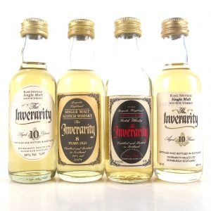 Inverarity Speyside Single Malt Miniature Selection 4 x 5cl