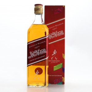 Johnnie Walker Red Label Limited Edition / Paisley for 2021 UK City of Culture