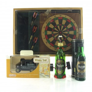 Glenfiddich Miniature Selection / including Mini Dartboard