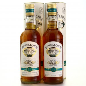 Bowmore 12 Year Old 2 x 35cl 1990s