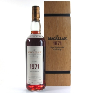 Macallan 1971 Fine and Rare 30 Year Old