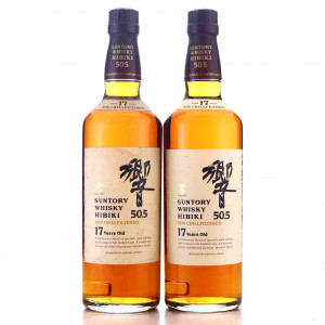 Hibiki Suntory Whisky 17 Year Old 50.5 2 x 70cl