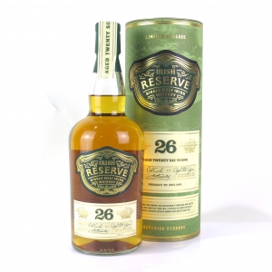 Irish Reserve 26 Year Old Single Malt Irish Whiskey