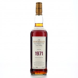 Macallan 1971 Fine and Rare 30 Year Old #7556