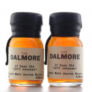 Dalmore 25 Year Old 2015 Release Miniature 2 x 3cl