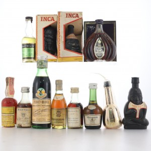 Miscellaneous Miniature Selection 12 x 5cl