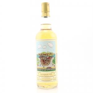 Springbank 1999 Whiskykanzler Fresh Rum Cask