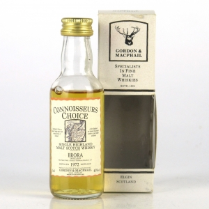 Brora 1972 Gordon and MacPhail Miniature 5cl