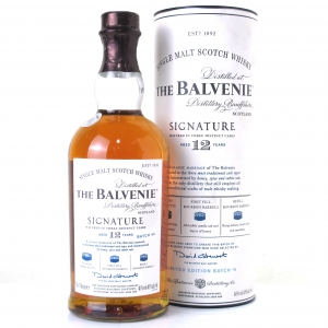 Balvenie 12 Year Old Signature Batch #004