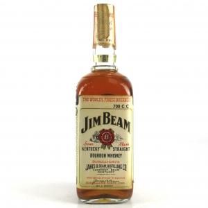 Jim Beam Kentucky Straight Bourbon 1970s / Japanese Import
