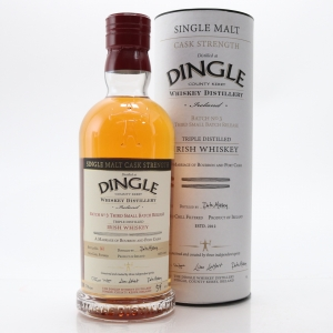 Dingle Irish Single Malt Cask Strength Batch No. 3 / Bourbon and Port Casks