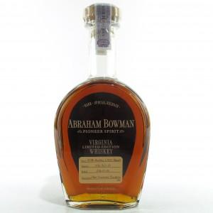 Abraham Bowman 2001 Port Finish Bourbon