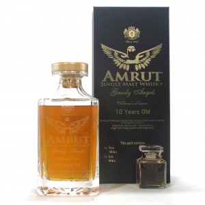 Amrut Greedy Angels 10 Year Old Chairman's Reserve / Including Miniature
