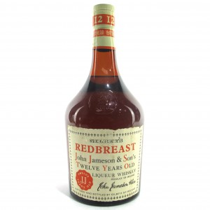 Gilbey's Redbreast 12 Year Old Jameson 1970s