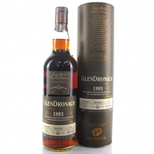 Glendronach 1993 Single Cask 24 Year Old #654 / Green Welly Stop