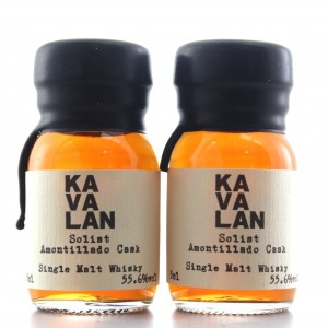 Kavalan Solist Amontillado Cask Miniature 2 x 3cl