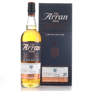 Arran 1996 Single Cask 21 Year Old #600 / Whiskybase