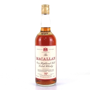 Macallan 1937 Gordon and MacPhail 1970s