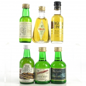 Miscellaneous Single Malt Miniature Selection x 6
