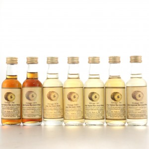 Signatory Vintage Miniature Selection 7 x 5cl / Includes Glenugie 1980