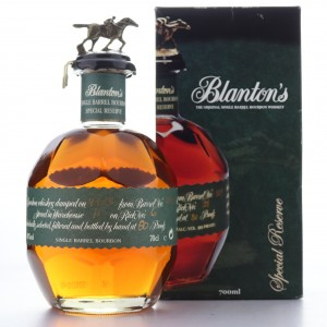 Blanton's Single Barrel Special Reserve Dumped 2015