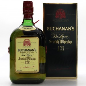 Buchanan's 12 Year Old De Luxe 1 Litre