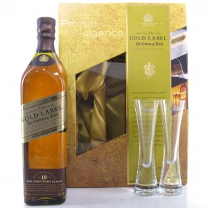Johnnie Walker Gold Label Centenary Blend 18 Year Old / LSA International Gift Pack