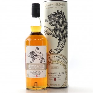 Lagavulin 9 Year Old Game of Thrones 75cl / House Lannister - US Import