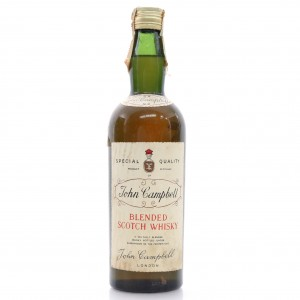 John Campbell Scotch Whisky circa 1960s