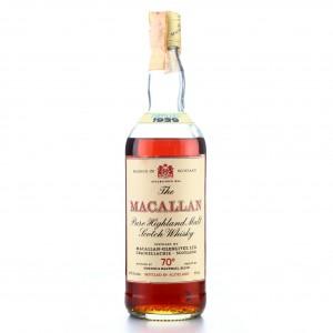 Macallan 1939 Gordon and MacPhail 70 Proof