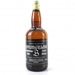 Springbank 1950 Cadenhead's 30 Year Old