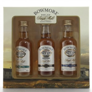 Bowmore Gift Pack 12, Darkest and 17 Year Old 3 x 5cl