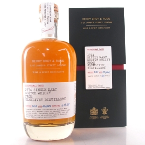 Glenlivet 1974 Berry Brothers and Rudd 42 Year Old #8170 / One of 29