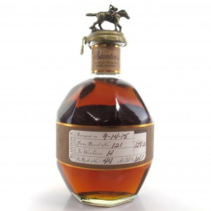 Blanton's Single Barrel Dumped 2015