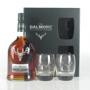 Dalmore 15 Year Old Presentation Pack / Including 2 Glasses