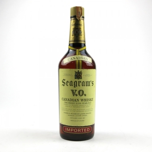 Seagram's V.O. 6 Year Old Canadian Whisky Circa 1968