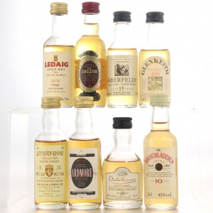 Miscellaneous Miniature Selection 8 x 5cl / Includes Aberfeldy Flora & Fauna