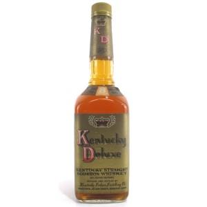 Kentucky Deluxe 8 Year Old Straight Bourbon 1990s