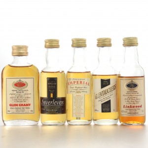 Gordon and MacPhail Miniature Selection 5 x 5cl
