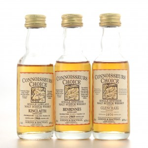 Gordon and MacPhail Miniature Selection 3 x 5cl / Including Kinclaith 1966