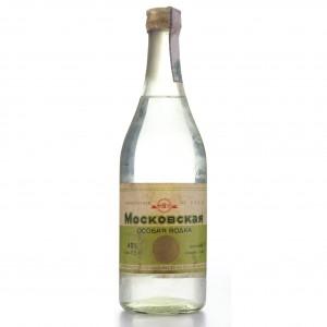 Moskovskaya Vodka 50cl 1960s
