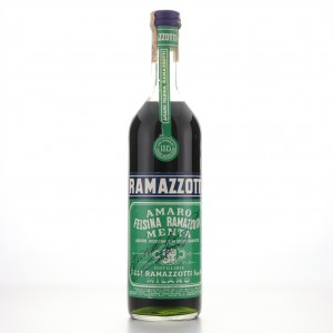 Ramazzotti Felsina Amaro Menta 1 Litre 1960s