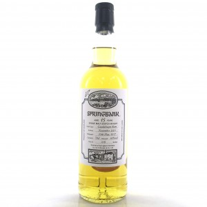 Springbank 2001 Guadeloupe Rum Cask 15 Year Old